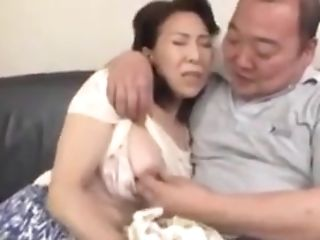 Japanese Stepmom Caught Rubbin' One-eyed Snake By Not Stepson
