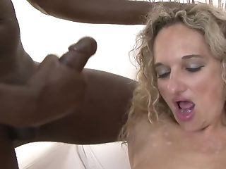 Chesty Matures Fucked By Two Black Fuck-sticks In The Same Time...
