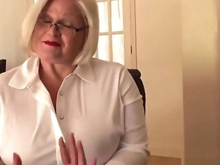 Mouth Fucked Brit Granny