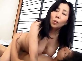 Japanese mature bang-out
