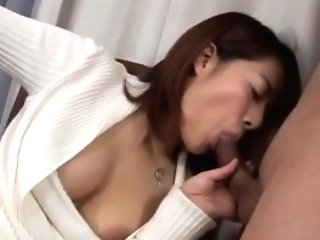 Big Titted Cougar Shinobu Shows Off Her Gorgeous Figure