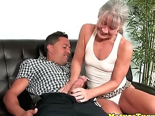 Smalltit Gilf Jerking Beef Whistle On Couch