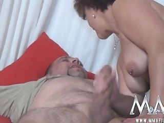 Black-haired Bbw In Stockings Kneading Her Slit After Hard Fuck