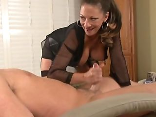 Horny Matures Gets Kinky And Ties A Youthfull Stud Up And Plays...