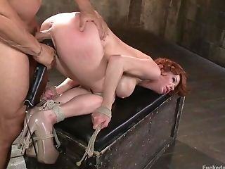 Boobilicious Ginger Mom Gets Her Snatch Stimulating With A Vibro...
