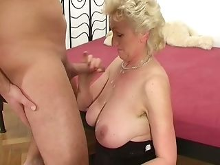 Curly Fat Matures Tart With Supah Saggy Tits Keeps On Sucking Dick