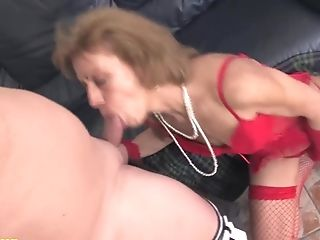 85 Years Old Granny First-ever Assfucking