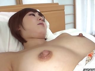 Two Perverts Love Playing Hairy Cootchie Of Sexy Cougar In Kimono...