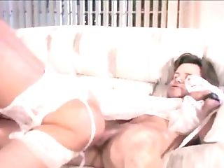 Large Jugged Ash-blonde Head Gets Her Ass Hole Hammered Truly Hard...