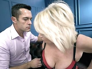 Matures Woman Rosemary Is Making Love With Her Youthful Hot Blooded...