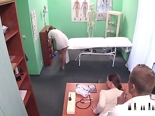 Nurse Caught Medic Fucking