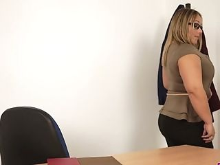 Chunky Big Titted Ashley Rider Certainly Loves Disrobing And...