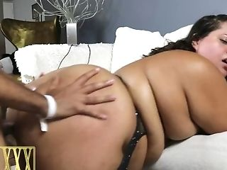 Fat Caboose Latina Bbw Breana Khalo Fucks & Rails Big Black...