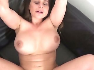 Buxom Wild Hoe Cathy Heaven Switches Poses To Get Her Fuckholes...