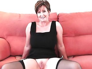 Gorgeous Granny With Big Tits Shows Her Poundable Assets
