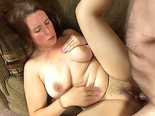 Unshaved Mummy Gets Her Fuckholes Munched And Fucked By Her Horny...