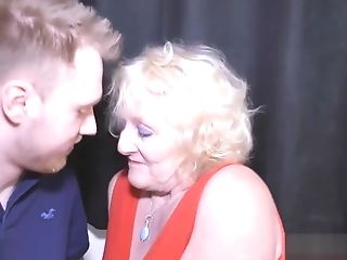 Claires Granny Cunt Pounded From Behind By A Youthfull Man