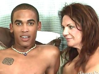 Tired Matures Pornographic Star Talking About Her Interracial Scene