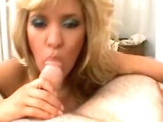 Gorgeous Big Titted Auburn Milfie Sexpot Wanks And Bj's Fat Prick