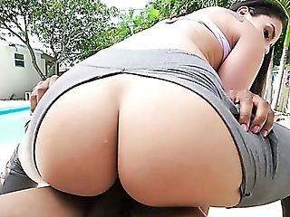 Sexy Yoga Honey With Gorgeous Booty Sheena Ryder Rails Such A...