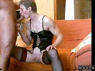 Crazy Cougar Booty To Mouth Act In Real Fledgling Hard-core...