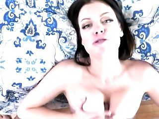 Stepson Blackmails The Dark-haired Lovely To Receive A Oral Job
