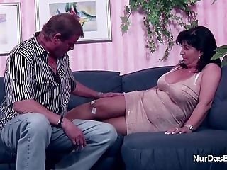 German Mom and Dad in Porno Casting for less Money