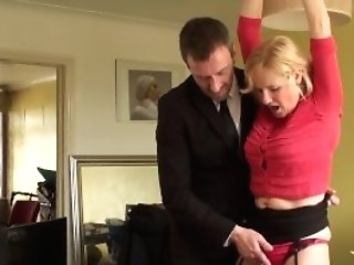Matures Uk Sub Gets Cuffed And Predominated Over