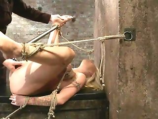 Curvy Tattooed Mom Shows Her Boobies And Gets Tied Up
