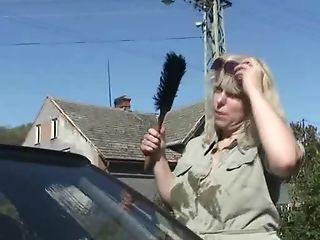 Matures Cunt Fucked Outdoors