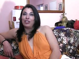 Horny All Natural Dark-haired Gets Finger-tickled Then Fucked Thru...