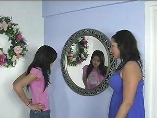 Mom And Horny Teenage On A Knob