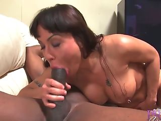 Stacked Brown-haired Mom With Pierced Puffies Gets Screwed With A...