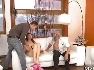 Matures Facesit And Old Man Youthful Rough Gang-fuck First-ever Time