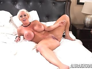Alura Jenson Group-fucked By Six Black Pricks At Once