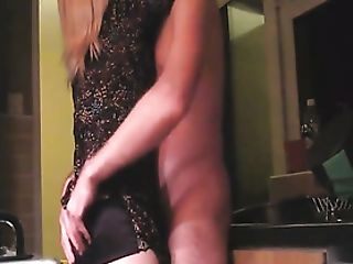 Matures Housewife Fucks A Junior Man In Her Kitchen