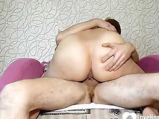 Amazing Mommy Bounces On Her Sonnie's Hard Spunk-pump