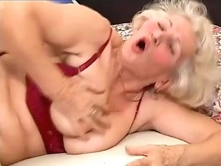Granny Norma - Matures Granny With Junior Man