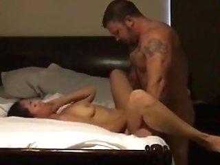 Muscle Stud Fucks Wifey Til She Cums!!!