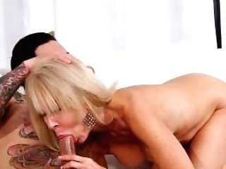 Sexy Cougar Erica Lauren Luving A Youthful Dick