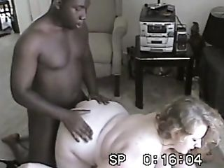 Antique Interracial Threesome With Two Matures Blondes