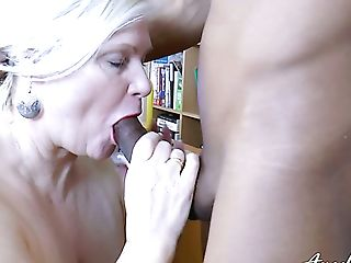 Lusty Brit Physician Lacey Starr Check Out Black Beef Whistle Of...