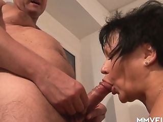 Old Woman Has An Affair With One Youthfull Dude Living Nextdoor