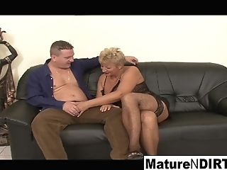 Matures Blonde Needs Two Knobs To Be Sated