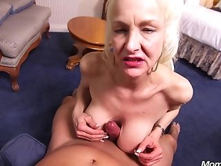 Wild Granny Gets Rammed - Point Of View Fucky-fucky