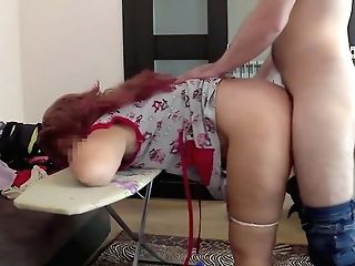 The Home Mom Did Not Hope Anal Intercourse From Her Stepson