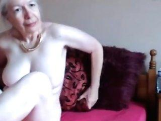 Hot Granny On Web Cam