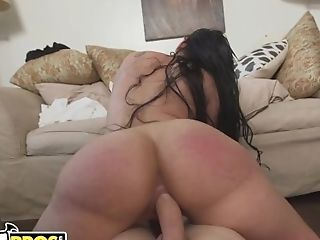 Bangbros - Thicc Mexican Housekeeper Railing Her Customer's...