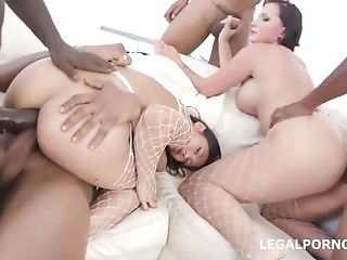 Dual Addicted Big Black Cock Edition With Jolee Love & May Thai...
