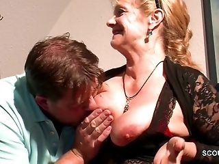 Monster Fuck-stick Step-Son Tempt Hot German Mom to Fuck